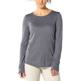 Icebreaker Sphere Low Crew Langarm-Shirt Damen panther